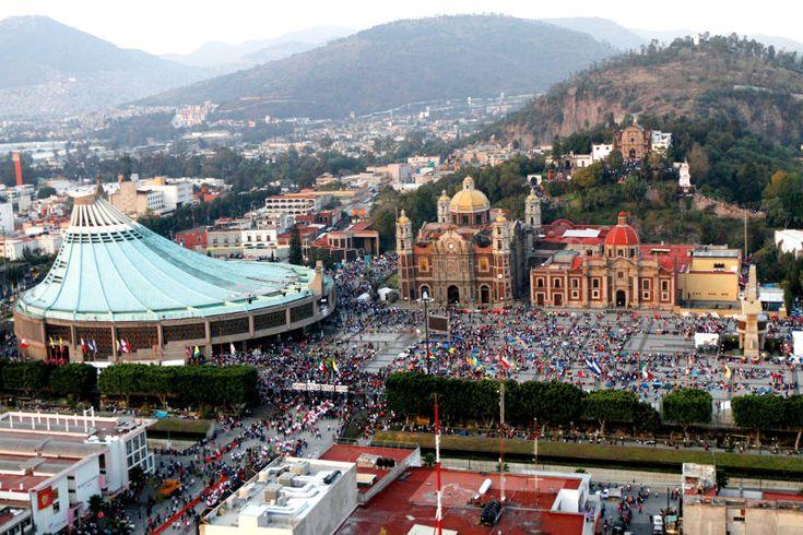 Le sanctuaire de Notre-Dame de Guadalupe à Mexico