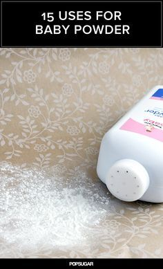 15 Awesome Adult Uses For Baby Powder