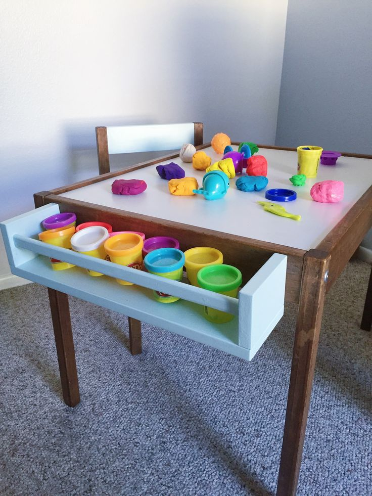Here is my DIY Hack for the IKEA Latt Table! I am hacking the Latt table to make it easier to clean, to add additional storage, and to match ourinterior decor style. The IKEA Latt table had endured a couple of years of dirt, dents, stuck food crumbs, etc. It is hard to remove anything ... [Read more...]