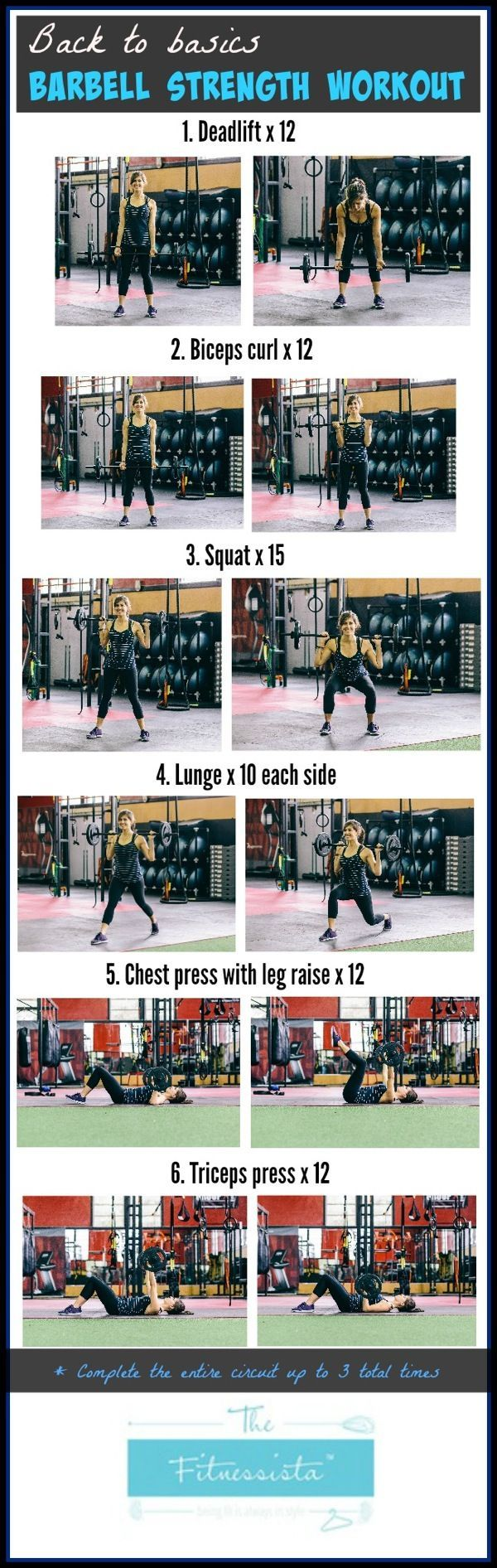 Back to basics barbell workout