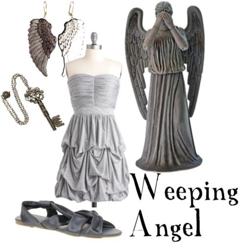 weeping angel halloween costume for sale