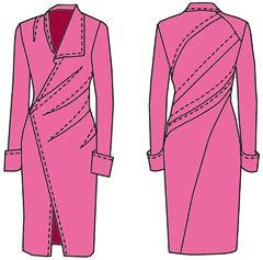 Dress patterns,Russian site with many instructions for dresses , use Google to translate
