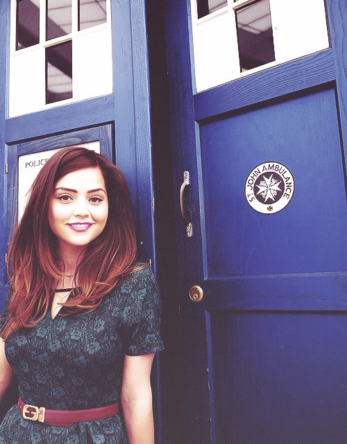 Jenna-Louise Coleman... I think I'm in love...