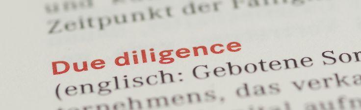 Due Diligence - Recherche Google