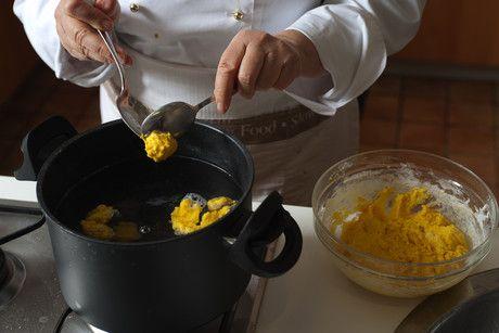 Gnocchi di #zucca con formai de mut e noci #ricetta