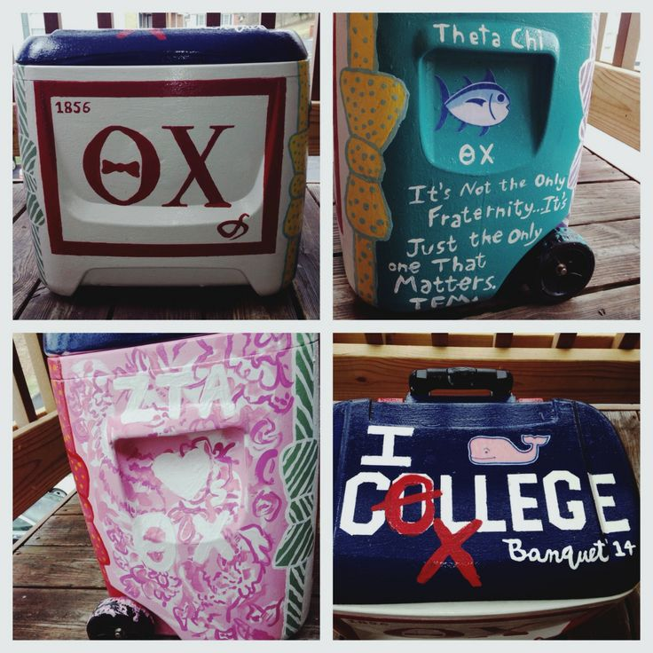 Cooler ideas for my Theta Chi <3