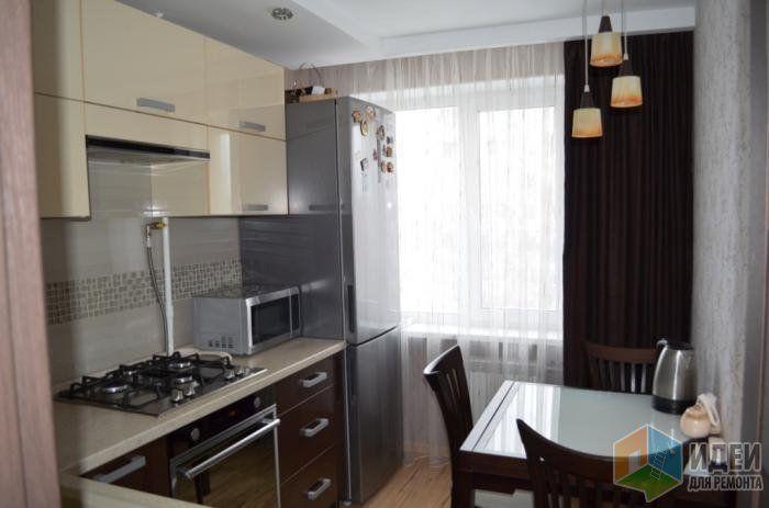 Кухня, мебель для кухни, дизайн проект небольшой кухни, кухонный фартук из плитки