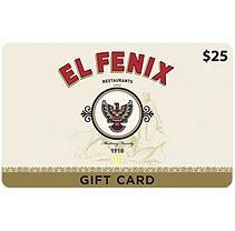 El Fenix Gift Card - 2 x $25