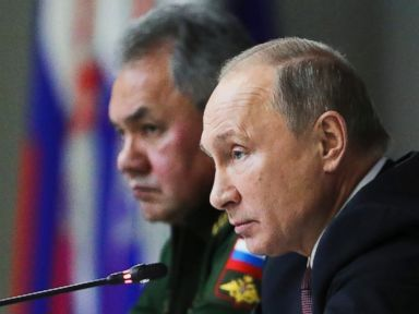 ABC News - Russian President Vladimir Putin on Friday accused the U.S. of violating a landmark Cold War-era nuclear arms pact and harboring aggressive intentions, and pledged to fend off any potential threats at a fraction of the U.S. cost. Putin, speaking during a meeting with the top military brass,...