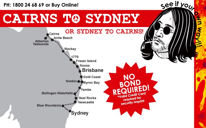 Cairns to Sydney