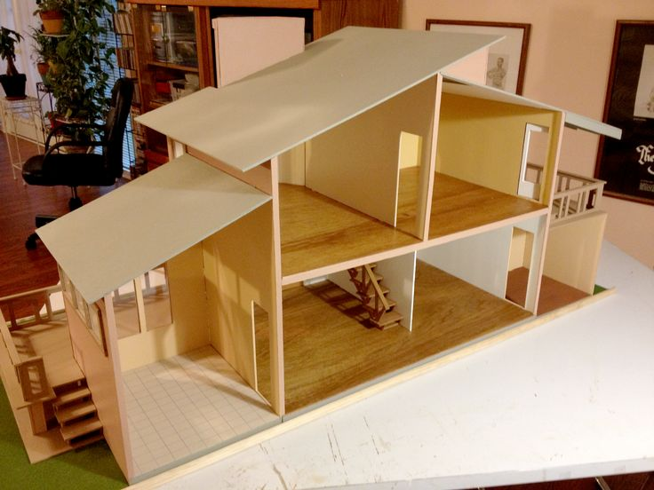 111 Best Images About Mid Century Dollhouses On Pinterest
