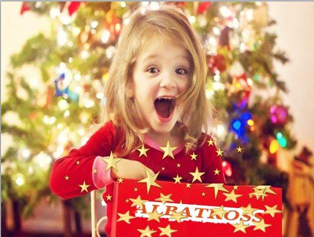 Μας αρέσει να βλέπουμε χαρούμενα παιδιά για το δώρο τους από το ALBATROSS.