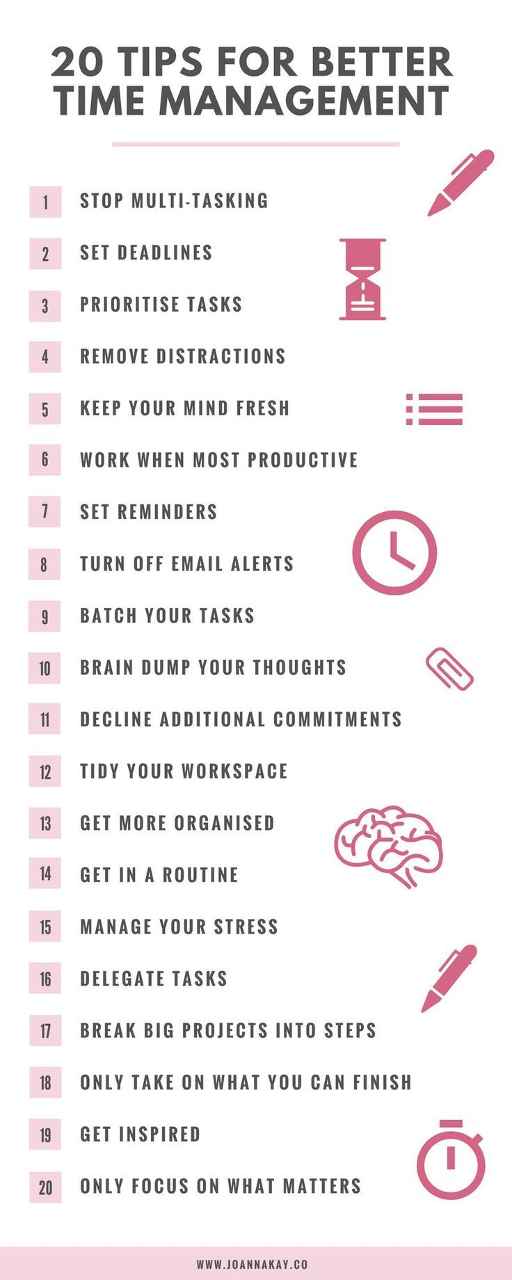 20 Time Management Tips When You Work From Home {H…
