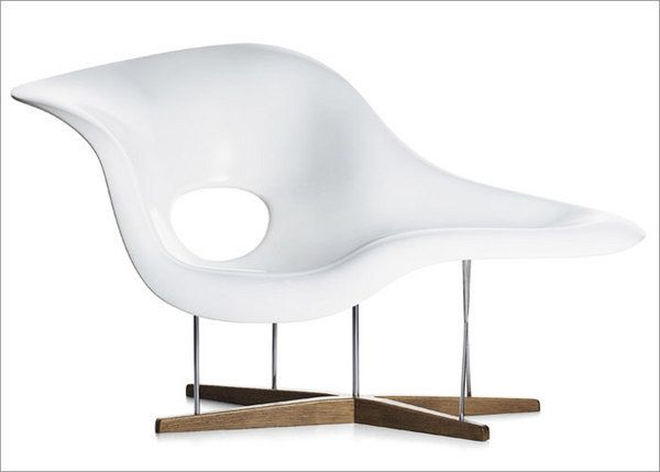 Vitra La Chaise by Charles and Ray Eames