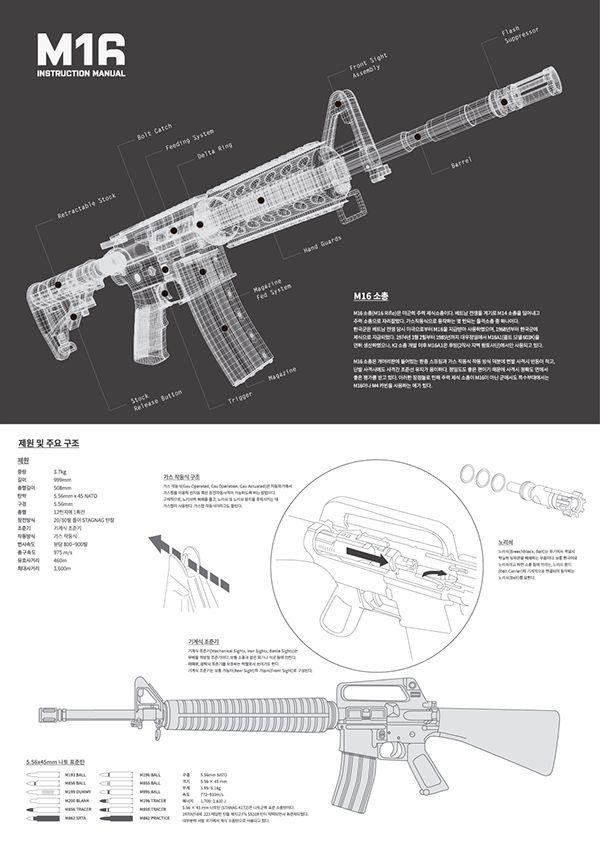 M16/4 Instruction Manual on Behance