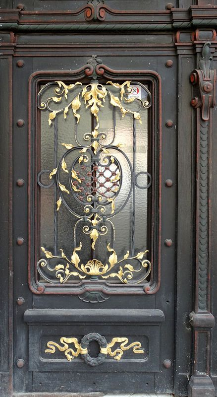 Ptuj Ornamented Door Slovenia.