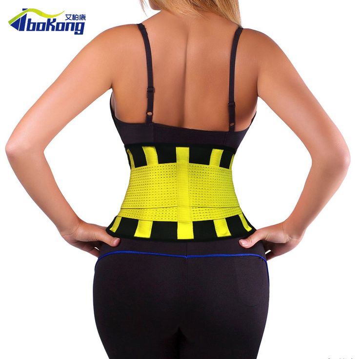 WAIST CINCHER BELT SLIMMING XTREME THERMO POWER HOT BODY GYM WAIST TRAINING CORSETS PLUE SIZE