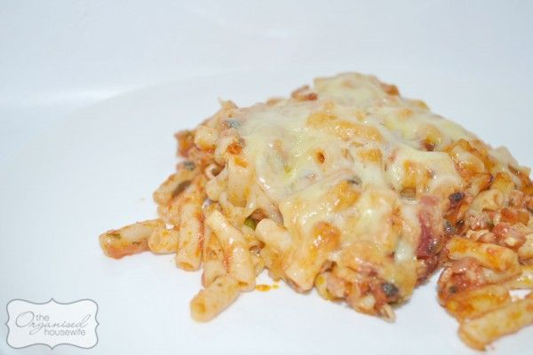 Bacon Pasta Bake
