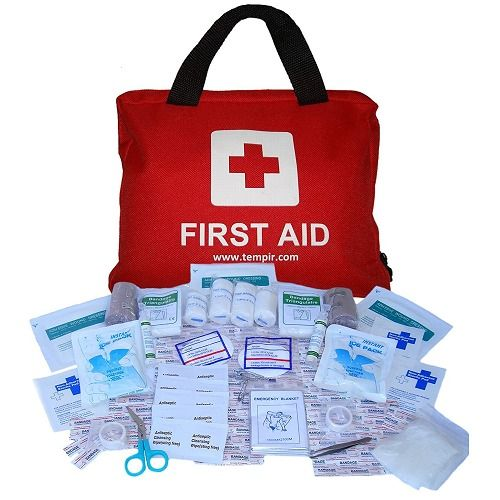 First Aid Kit Survival Emergency Medical Tauma Bag Travel Car Home Camping Work  #FirstAidKit