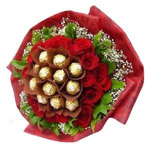 L'amour Belgian Chocolate Bouquet 23