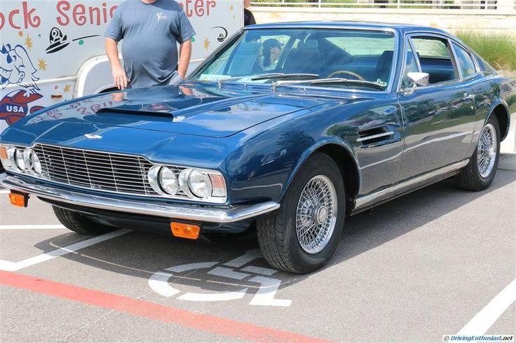 1969 Aston Martin DBS. As seen at the 2014 Texas All British Cars Day show.