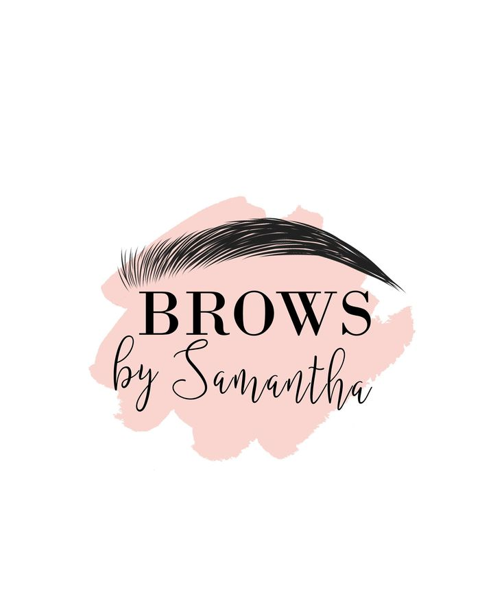 Brows Logo, Microblading Logo, Eyebrows Logo, Beauty Salon Logo, Makeup Logo Design