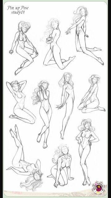 Pin up poses