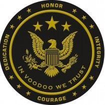 Voodoo Tactical Round Challenge Coin