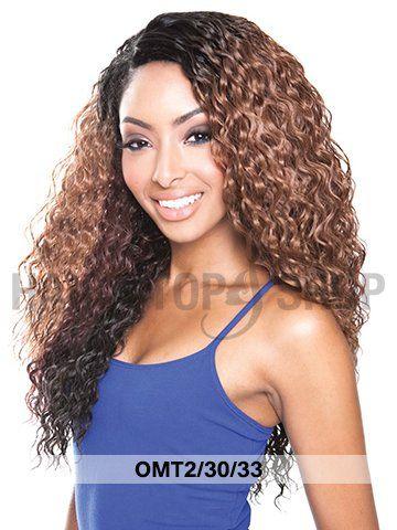 Mane Concept Enchantress Brazilian Ombre Bundle Spanish Wave Weaving 3pc Gimme Dat 22 Hair