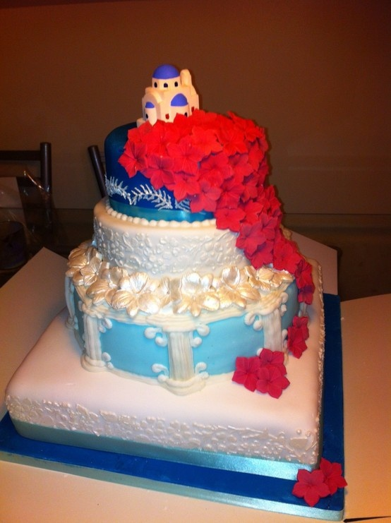 greek inspired wedding cakes 1000 images about grecia on columns church 14944