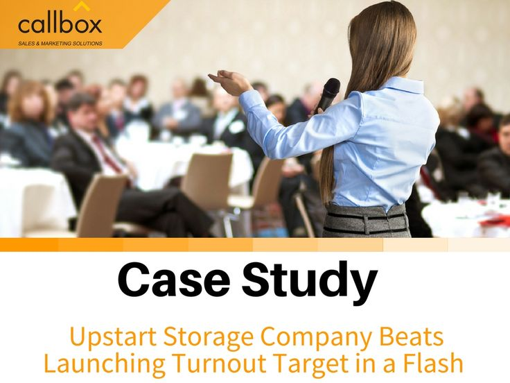 A US-based all-flash enterprise storage company hired Callbox to register qualified leads for their event, the result was awesome. Even high-profile companies was able to attend. Find out why they re-contracted with Callbox right after.