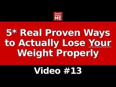 How to Lose Weight in a Week (5* Real Proven Ways to Actually Lose Your Weight Properly) - YouTube