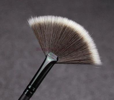 Slim Fan Shape Makeup Brushes Powder Concealor Blending Finishing Highlighter Highlighting Professional Make up Brushes Set