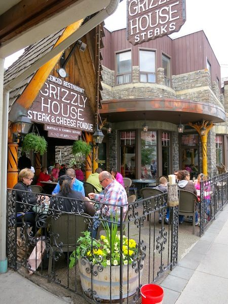 Grizzly House Restaurant in Banff, Canada Fantastic Fondue and Service! A Must Do In Banff