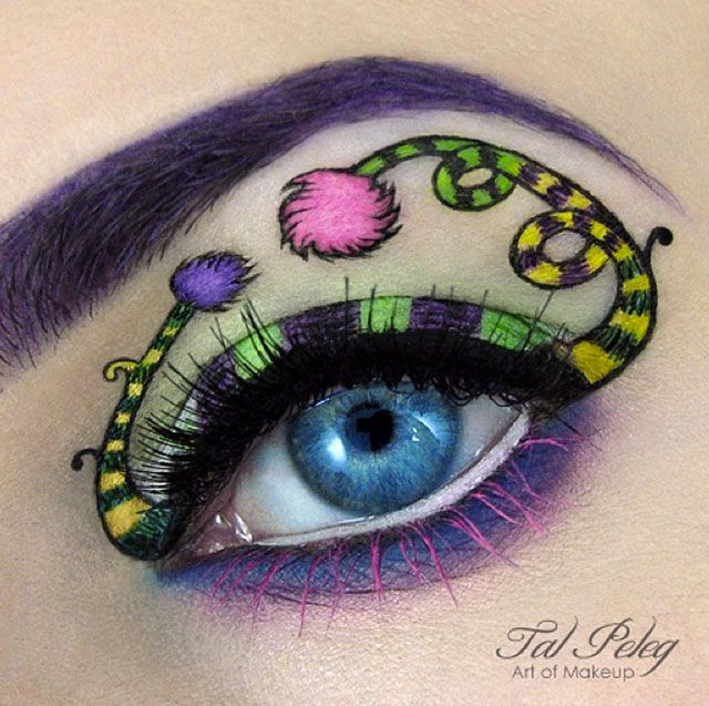Incredible fairytale inspired eye makeup