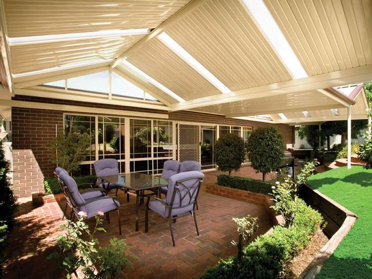 How to build a stratco patio