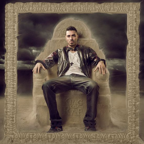 Marracash - King del Rap  --  Artwork - Luca Scalia