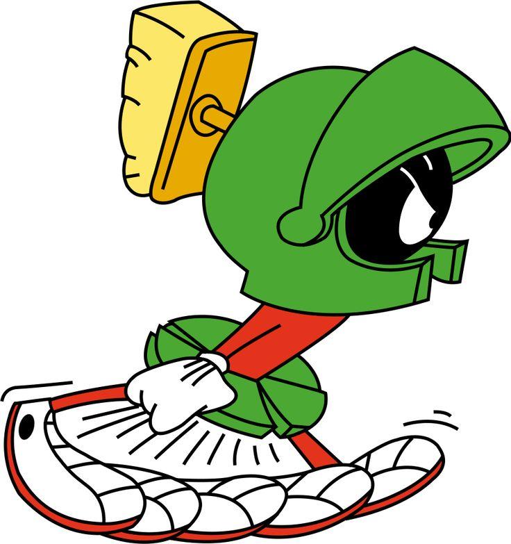 Marvin the Martian... I've always loved Marvin's little legs :)