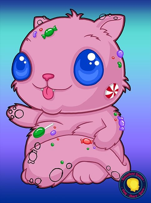 Candy cat progress
