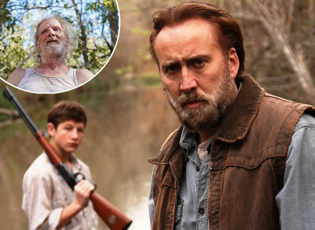 Gary Poulter, upper right, in 'Joe,' starring Nicolas Cage (TIFF.net/ Entertainment Weekly) ~ really want to see this!