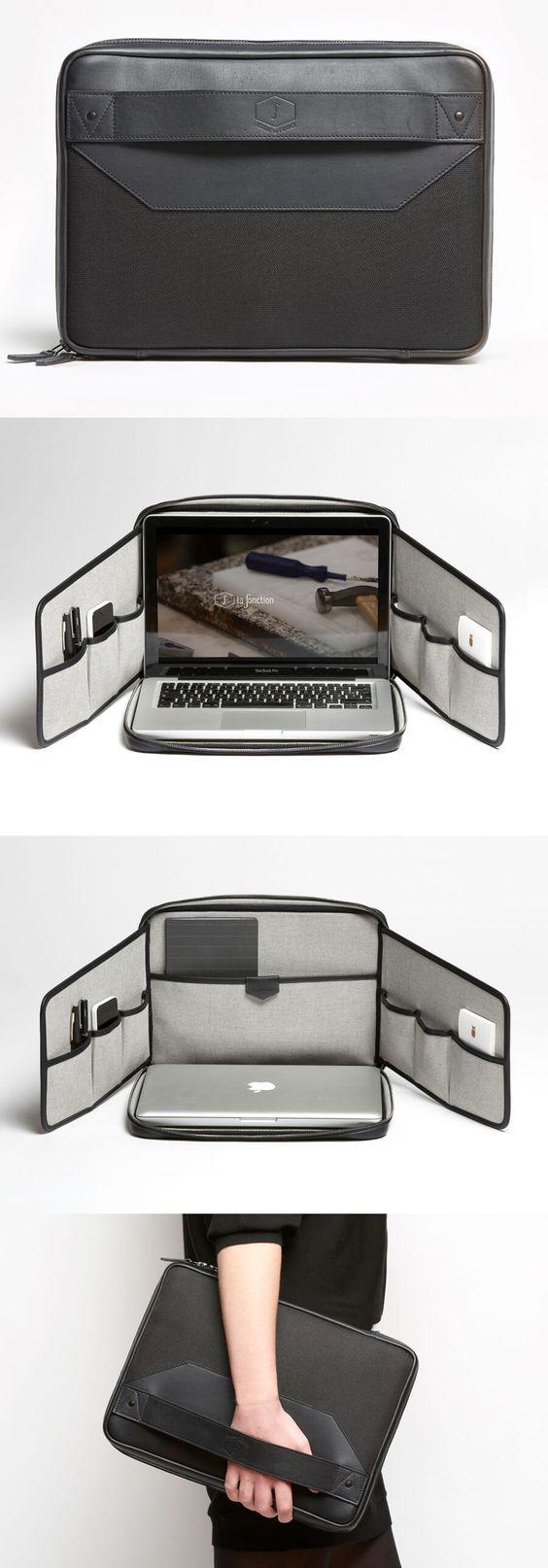 F01.2 (black) laptop bag/stand