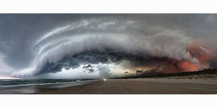 Photographed by Murray Fredericks - The panorama effect on this image works well to create space and magnitude.