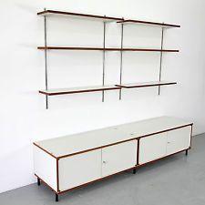 M 125 Sideboard & Wall Unit by Hans Gugelot for Bofinger 1956 | Regalsystem 50er