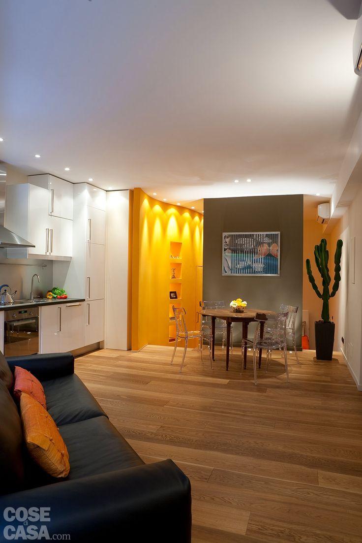 37 fantastiche immagini su case fino a 50 mq su pinterest for Appartamento design per la casa