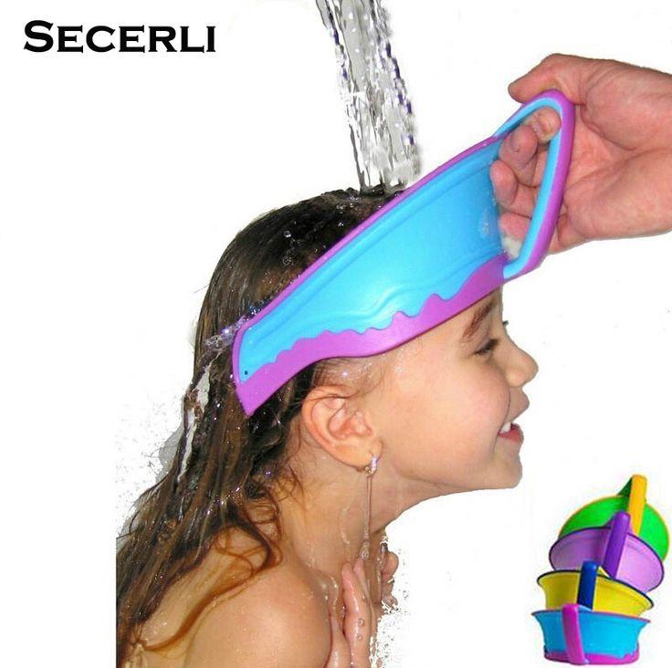 Hot Sale Adjustable Baby Shower Cap Protect, Shampoo Kids Bath Visor Hat, Hair Wash Shield For Children Infant Splashguard