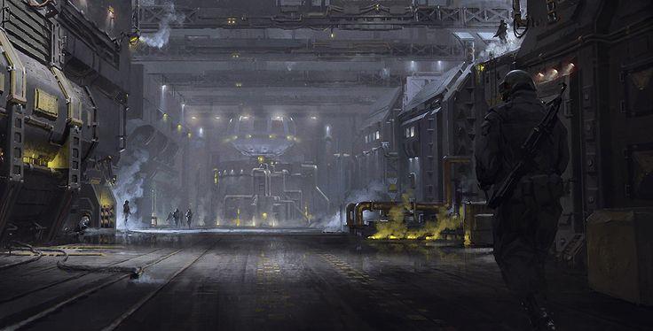 ArtStation - Facility, Ivan Khomenko