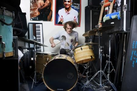 Zach Hill from the series The Drum Thing © Deirdre O'Callaghan