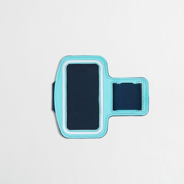 J.Crew Factory sport armband for iPhone® 6 ($9.50) ❤ liked on Polyvore featuring accessories and tech accessories
