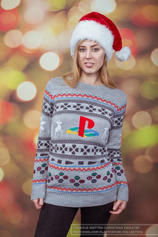 Playstation Console Unisex Knitted Christmas Sweater