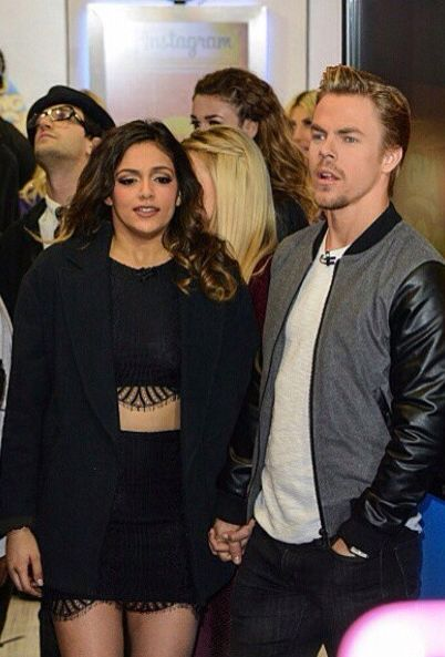 is bethany mota and derek hough dating partner
